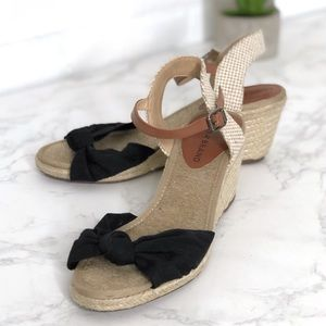 Lucky Brand Wedge Espadrilles Shoes Krizhy 6.5